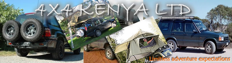 4X4 with two rooftop tentsc&ing equipmentscarhirekenyaTanzania car rental & 4x4 Kenya selfdrive rooftop tentkenyaTanzaniaUgandaRwanda